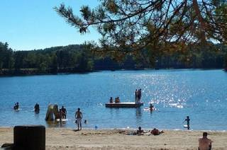 Marcillac la croisille, Camping du Lac Marcillac