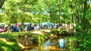 Camping La Clairière Saint Paul en Born