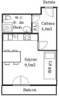 Aussois, Appartement de particulier à Aussois