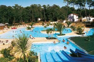 Camping saint palais sur mer pas cher 6 mobil homes d s for Camping st palais sur mer avec piscine couverte