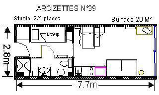 Gourette, Résidence Arcizettes