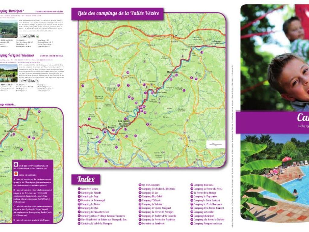Camping Domaine De Landrevie (Saint-Félix-de-Reillac-et-Mortemart à 8 km)