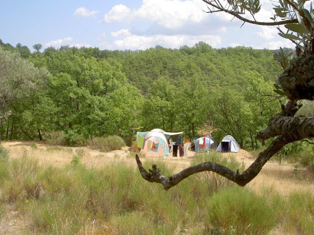 Camping Les Matherons (Puimichel à 15 km)