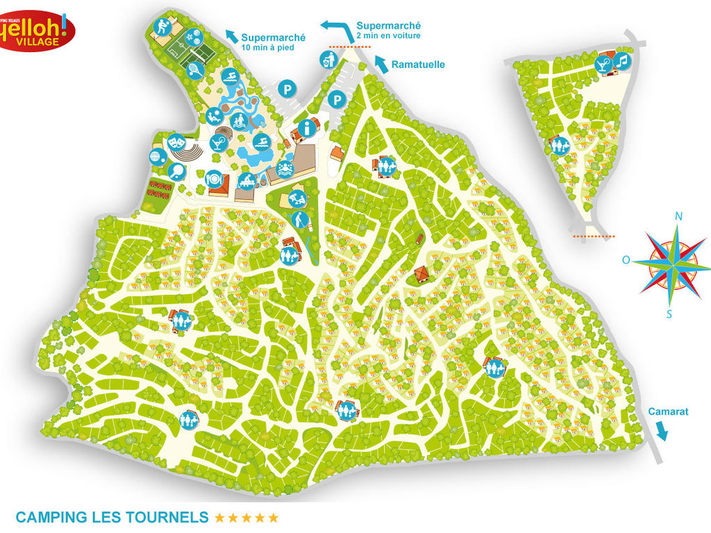 Camping Les Tournels