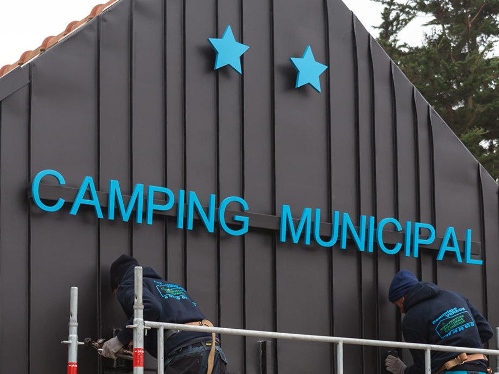 Camping Municipal A La Pointe Du Grouin