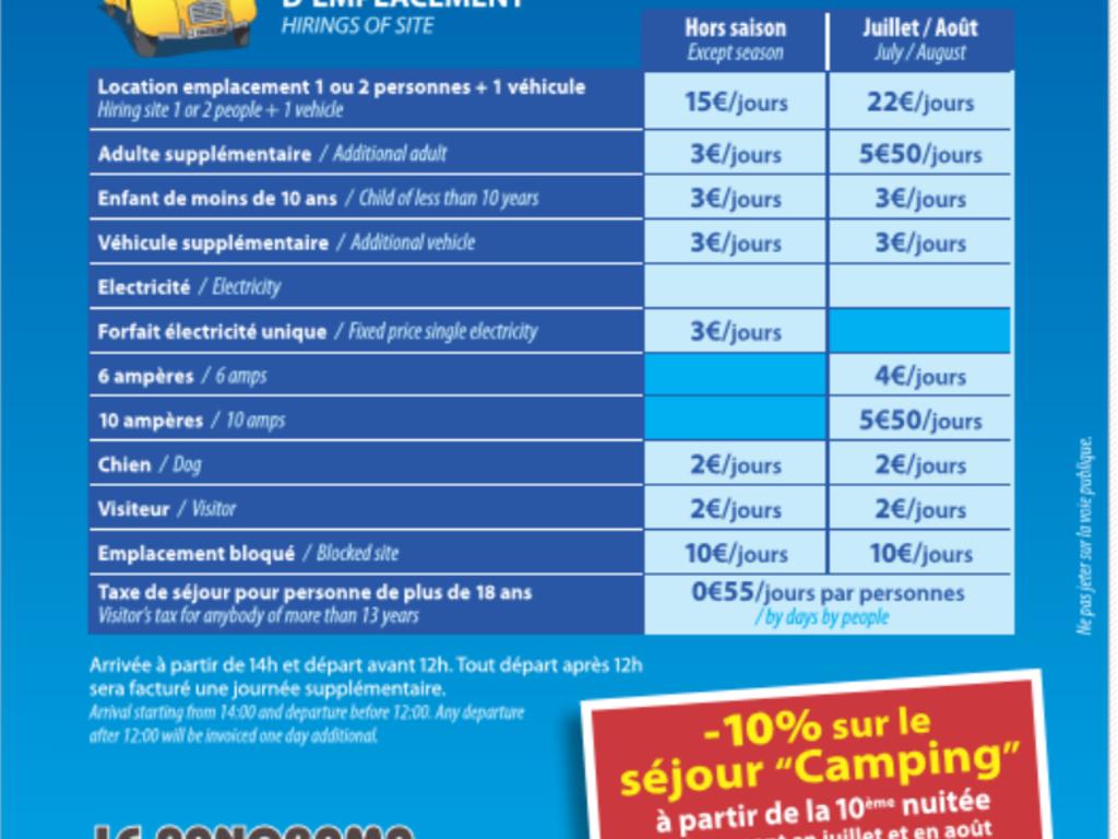 Camping Les Chardons Bleus*