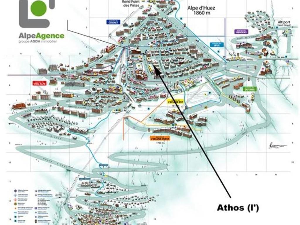 Appartements Athos - Alpe d'Huez