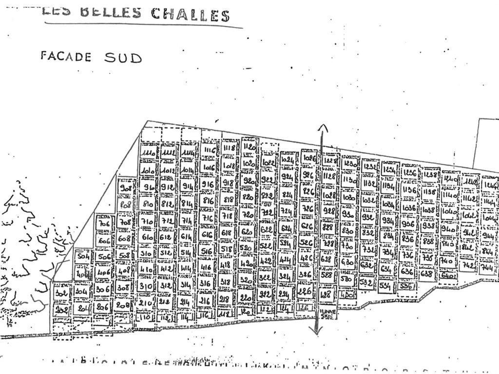 Résidence Belles Challes Arc 1800