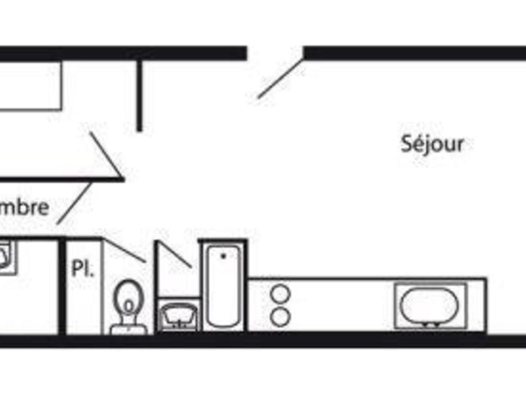 Résidence La Cachette Arc 1600