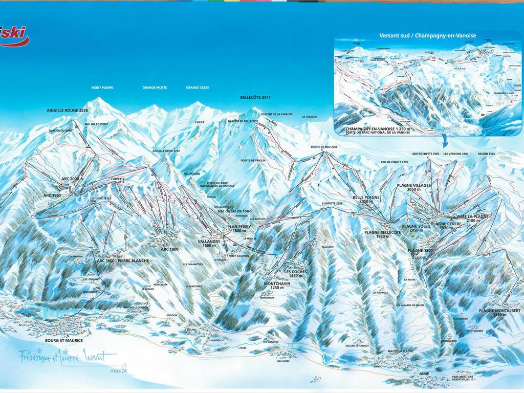 Résidence La Cascade Arc 1600