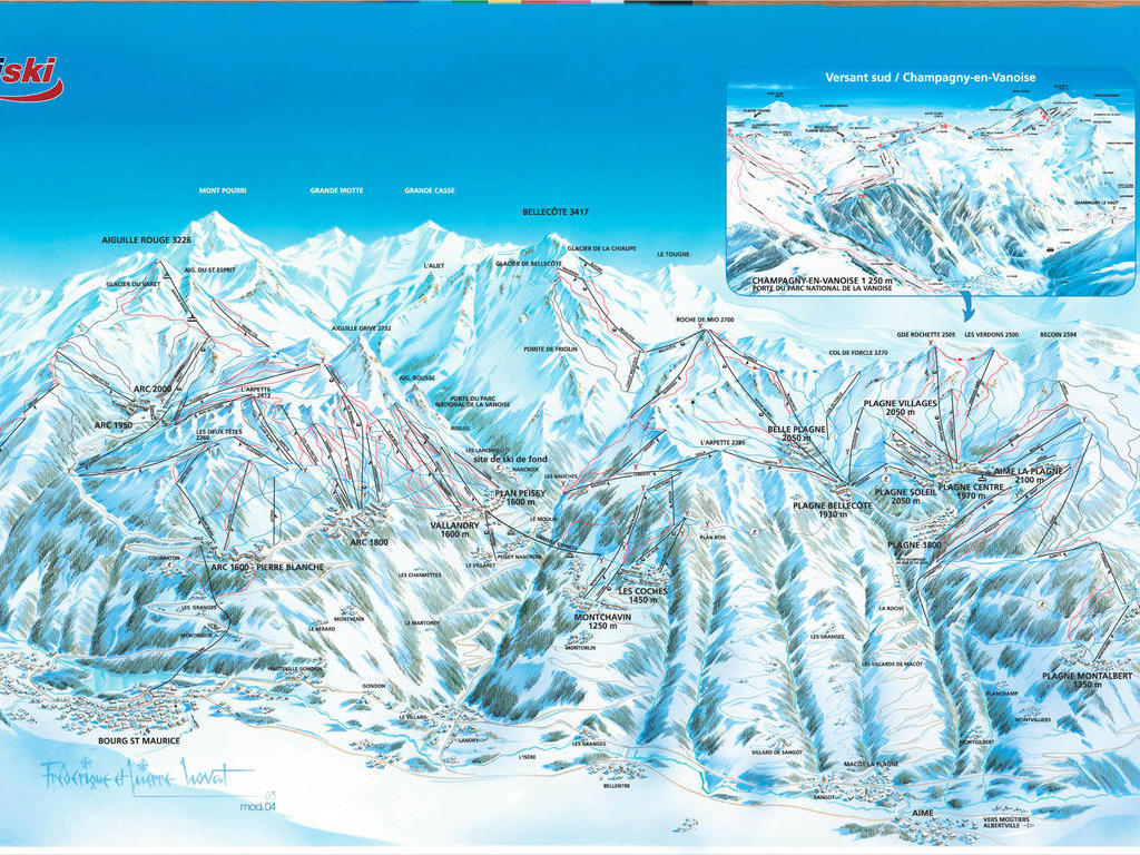 Résidence Le Bel Aval Arc 2000