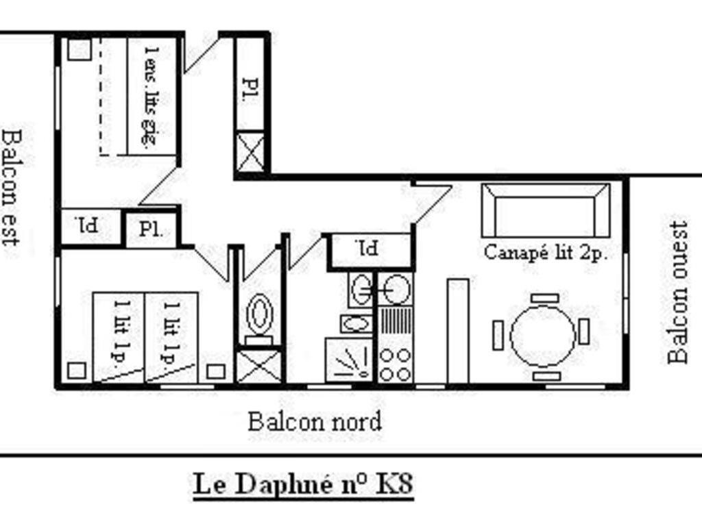 Résidence le Daphne