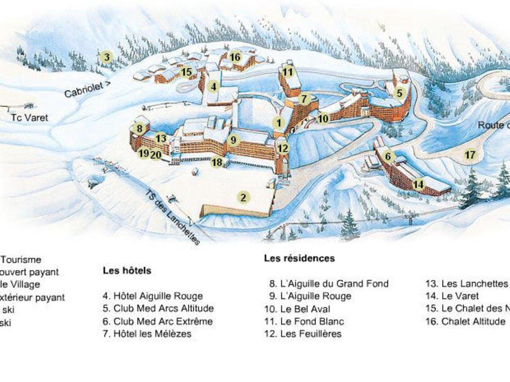 Résidence Le Fond Blanc Arc 2000