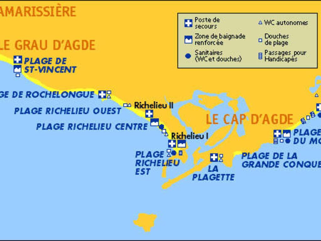 cfc433a298b Résidence  Le Grand Large  Cap d agde   locations disponibles.