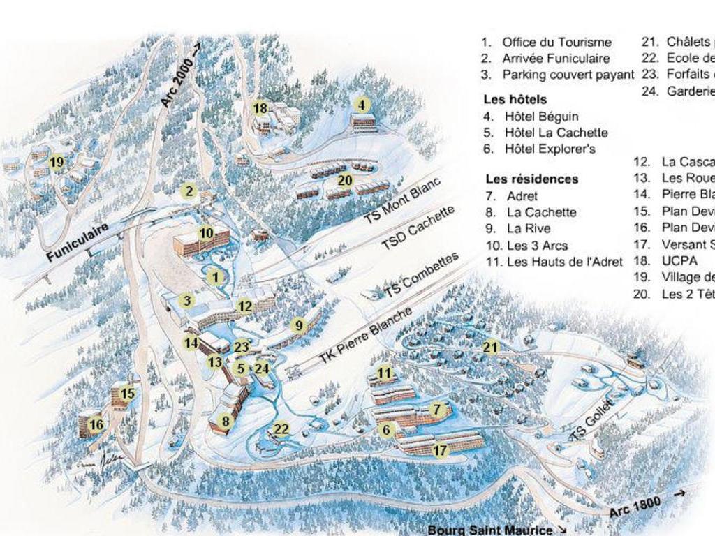 Résidence Le Versant Sud Arc 1600