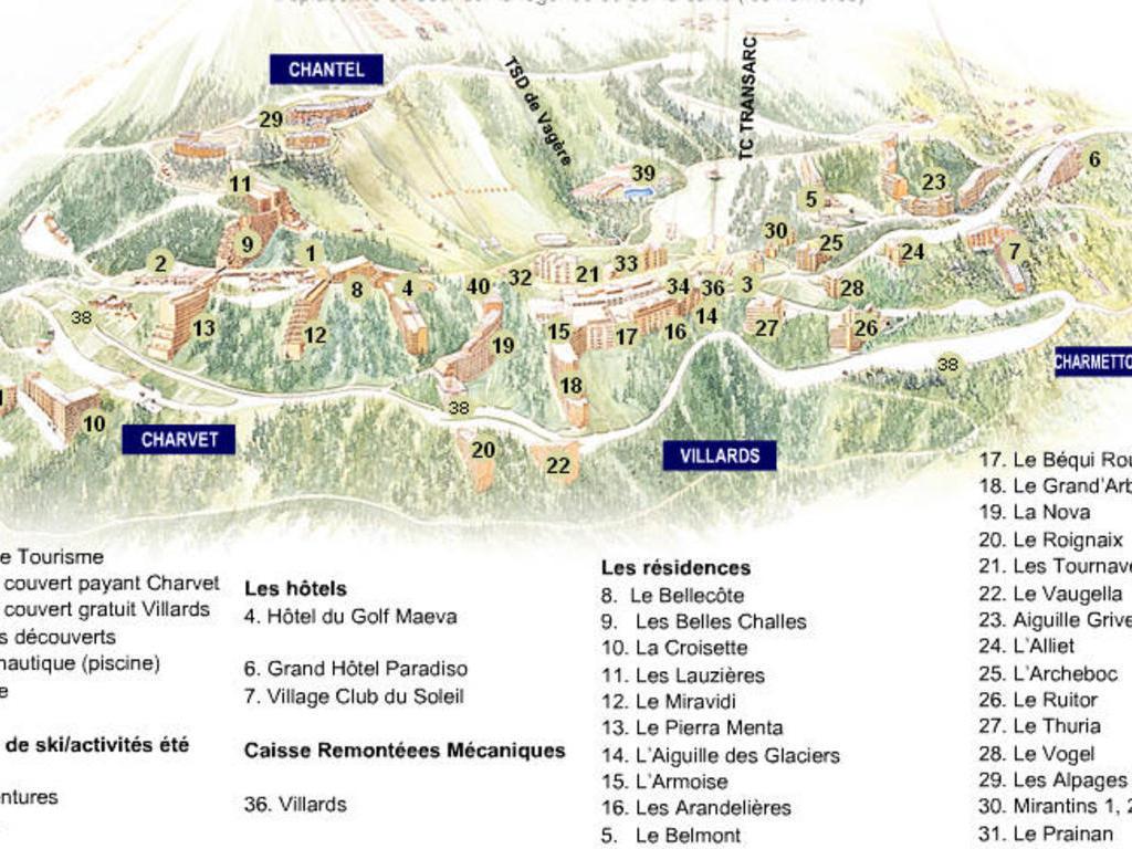 Résidence Les Arandelières Arc 1800