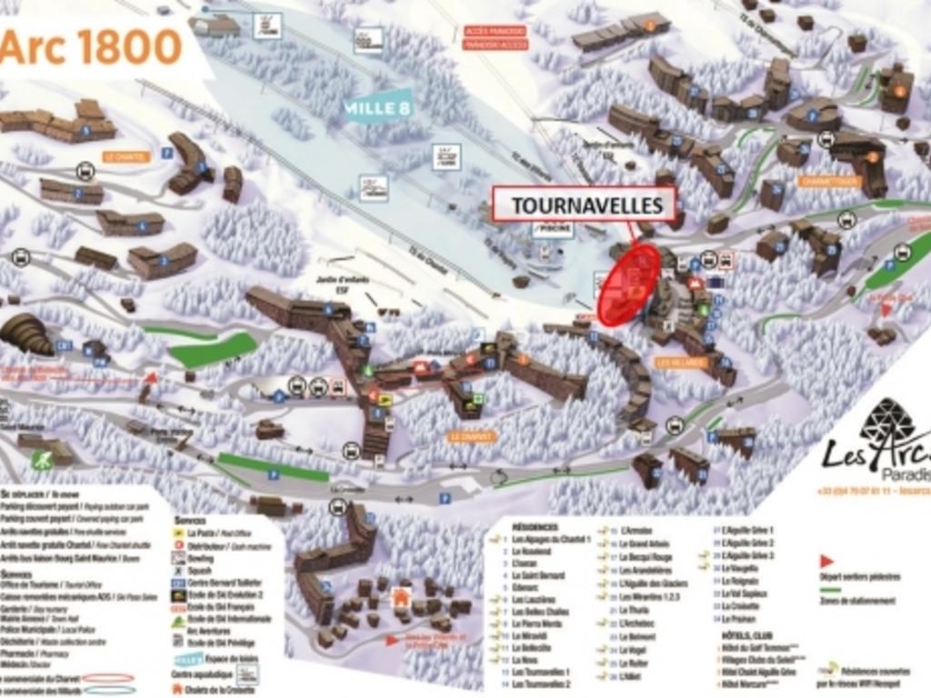 Résidence Les Tournavelles Arc 1800