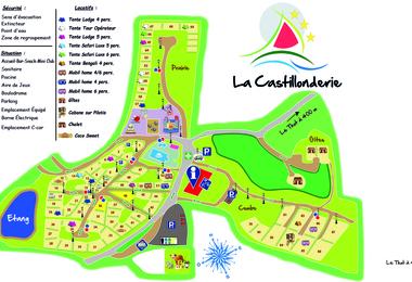 Camping La Castillonderie (Thonac à 4 km)