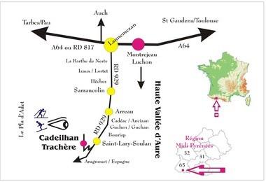 Camping La Mousquere (Bourisp à 2 km)