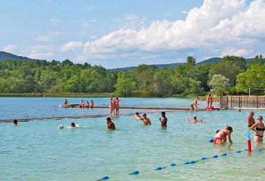 Camping Le Petit Lac (Moustiers-Sainte-Marie à 8 km)