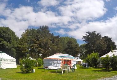 Camping Mer Et Yourtes (Plouénan à 3 km)