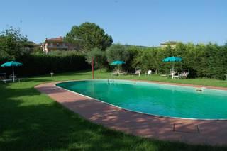 Appartement de particulier avec piscine en Ombrie