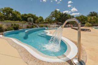 Apartamentos vacaciones en Camping Les Amandiers Gallargues Le Montueux