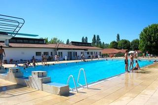 Camping Les Rives de l'Adour Bel Air Village