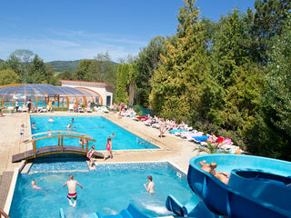 Mobile home rentals in Camping Le Moulin