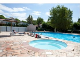 Holiday villages in Camping Harrobia