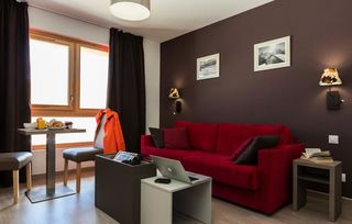 Apartment holiday in Residence Prestige Odalys Front de neige Plagne Village