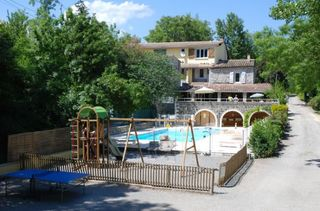 Camping Les Rives d'Auzon Lavilledieu