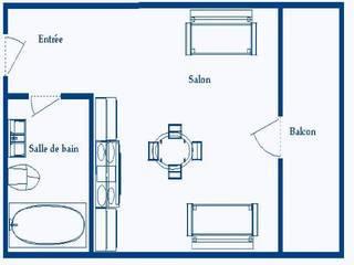 Appartement de particulier aux angles