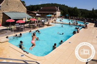 Apartment holiday in Camping Les Granges Grolejac