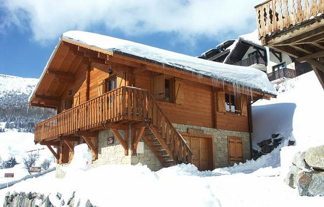 Apartment holiday in Chalet Sapins/Les Loups
