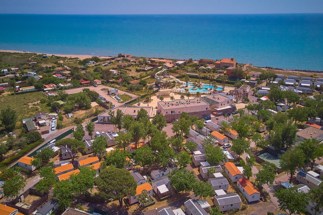 Holiday villages in Camping Tohapi Le Petit Mousse