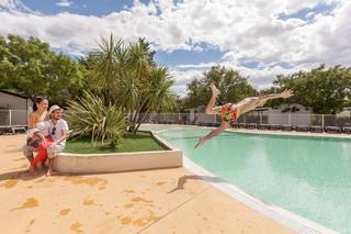 Holiday villages in Camping Les Amandiers